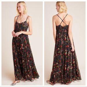 Anthropologie Payal Jain Massima Floral Maxi Dress